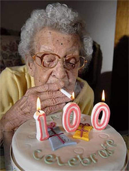 One of these days I've got to quit smoking!