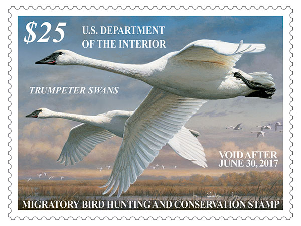 2016-2017 Federal Duck Stamp